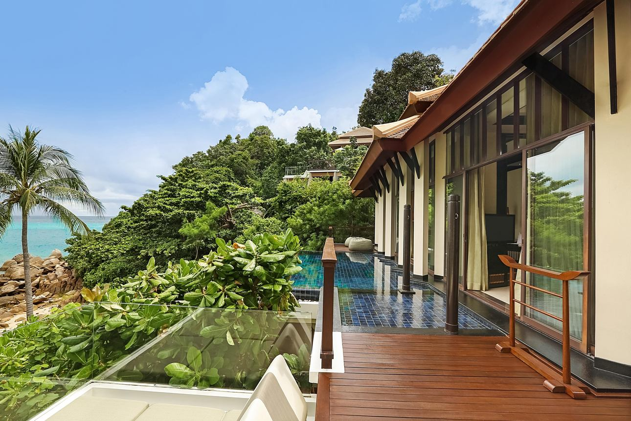 Partial Ocean View Pool Villa