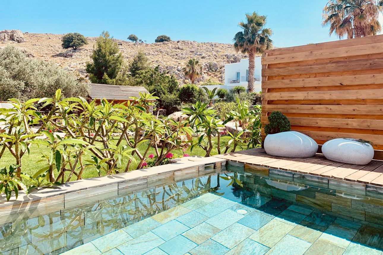 Executive Bungalowkamer met privézwembad